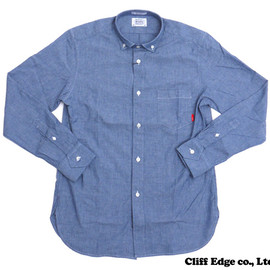 WTAPS - PLAINL/SSHIRTS.COTTON.CHAMBRAY(長袖シャツ)INDIGO216-001162-000-【新品】【smtb-TD】【yokohama】
