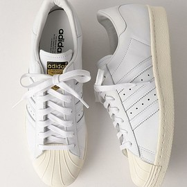 adidas - SUPERSTAR 80s DLX in white 2016 SS
