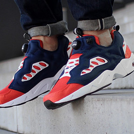 Reebok - Insta Pump Fury Road - Collegiate Royal / Orange