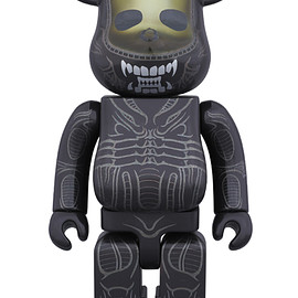 MEDICOM TOY - BE@RBRICK 400% ALIEN