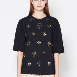 3.1 Phillip Lim - ALL EYES ON YOU EMBROIDERY TSHIRT