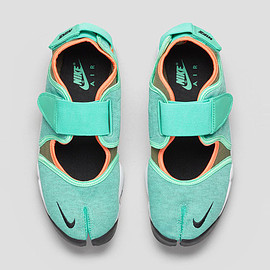 Nike - Air Rift Crystal Mint/Bright Citrus/Total Orange/Black