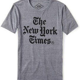 ALTRU - New York Times Stacked Tee Shirt