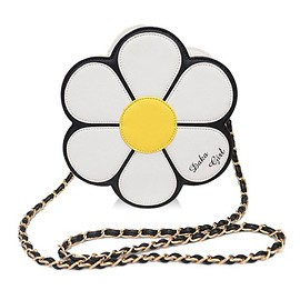 Sweet Style Women's Crossbody Bag With Flower Pattern and Chain Design