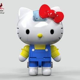 BANDAI - Chogokin Hello Kitty robot 4
