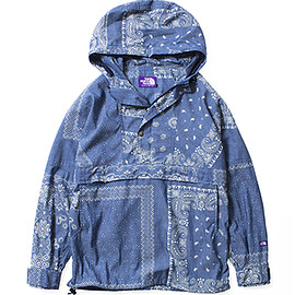 THE NORTH FACE PURPLE LABEL - COOLMAX® Indigo Chambray Print Pullover