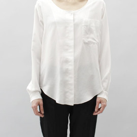 MM6 - Silk Button Down Blouse