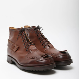 Casely-Hayford for John Moore  - Toe Strap Boot