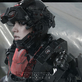 Awesome Futuristic Combat and Space Suit Designs / CyberPunk / SteamPunk