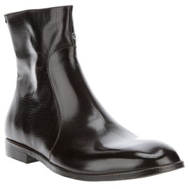 Maison Martin Margiela - MAISON MARTIN MARGIELA - zip up ankle boot 1