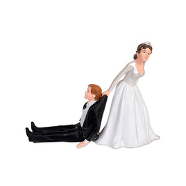 Accoutrements - Reluctant groom cake topper