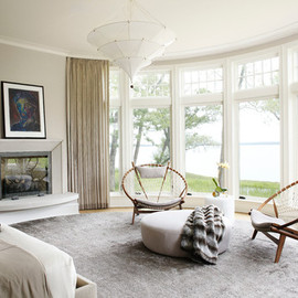 georgianadesign:Lake Michigan chic. Morgante Wilson Architects.interiors