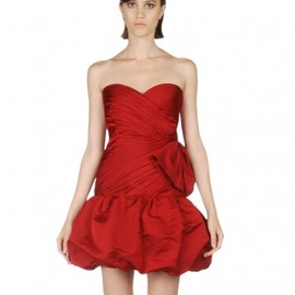 VALENTINO - strapless dress