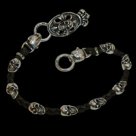 Horse Stainless Wire Bangle