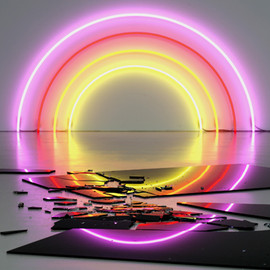 Dan Flavin - unknown
