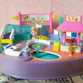 polly pocket - Pool Party プール