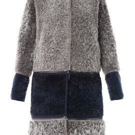 FENDI - Reversible shearling coat