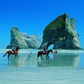 New Zealand - Wharariki Beach