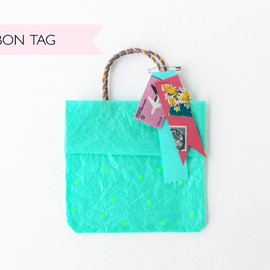 hello sandwich - ribbon tag