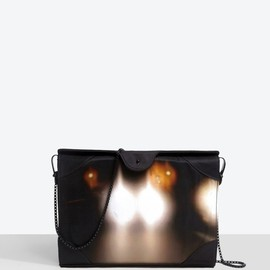 CARVEN - Printed leather small doctor bag