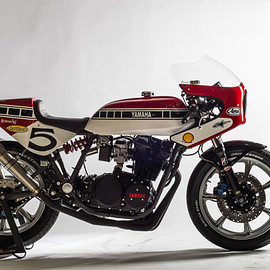 YAMAHA - A killer race-inspired Yamaha XS850 by Dutchman Maarten Poodt.