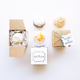 viceansvelvet - Custom Jewel Soap Favours - Boxed and Personalised