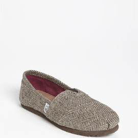 TOMS - TOMS 'Classic' Metallic Herringbone Slip-On