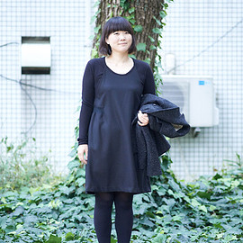 RYU - RYU / Wool viyella layered dress