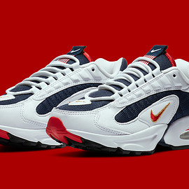 NIKE - Air Max Triax 96 - Midnight Navy/University Red/White/Metallic Gold