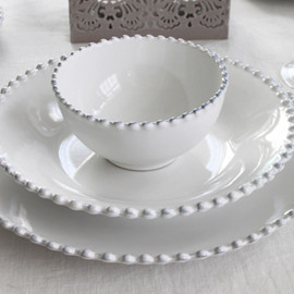 COSTA NOVA - PEARL CEREAL BOWL WHITE