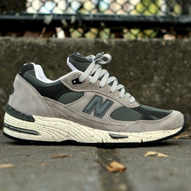 "New Balance - New balance 991 ""Grey Speckle"""