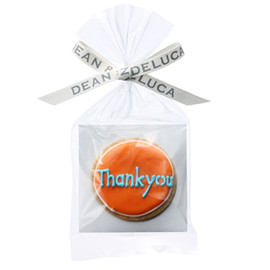"DEAN & DELUCA - ""Thank you"" cookie"