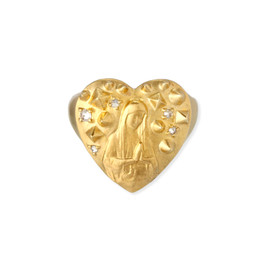 Chigo - Maria Heart Stud Ring