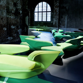 Zaha Hadid - Zephyr Sofa by Zaha Hadid for Cassina Contract
