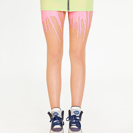URB - Image of Neon Pink Melting Tights