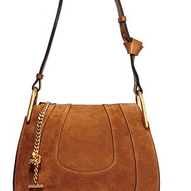 Chloé - Hayley small suede shoulder bag