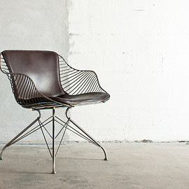 Overgaard & Dyrman - Wire Lounge Chair