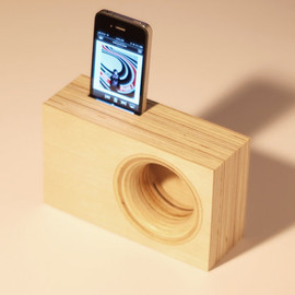 IndexDrums - DOCK BOX acoustic iPhone amplifier