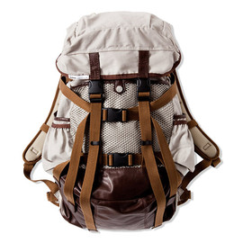 CASH CA - CASH CA / ×immun. BACK PACK [GREY/BROWN]