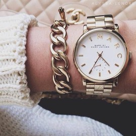 MARC JACOBS - watch/gold