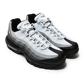 NIKE - NIKE AIR MAX 95 ESSENTIAL  BLACK/WHITE-DARK GREY-COOL GREY