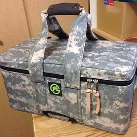 FIRST IMPRESSIONS - Pixel Camo 45s Bag.