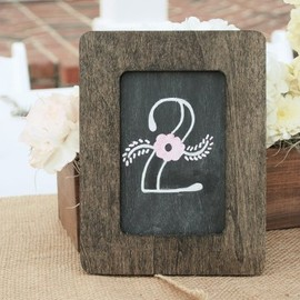 Project Wedding - Chalkboard Table Number