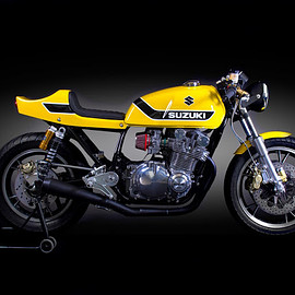 Fuchs Workshop - Yellow Weapon / Suzuki GS1000G, 1981