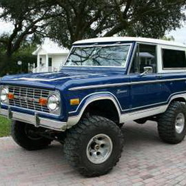 Ford - 1976 Ford Bronco