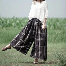 Leisure trousers - Loose women Leisure trousers Women large size pants boho pants