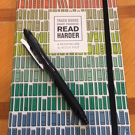 Book Riot and Piet Aukeman - Read Harder, A Reading Log