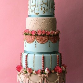 party! - art deco cake