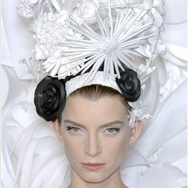head piece for Chanel Couture SS09