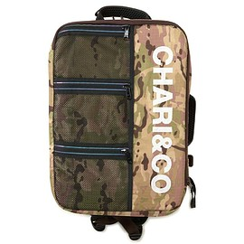 chari&co - MEDIUM SQUARE BACKPACK リュック バックパック CAMO